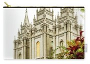 Slc Temple Angle Carry-all Pouch by La Rae  Roberts