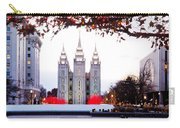Slc Temple Red And White Carry-all Pouch