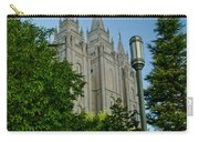 Slc Temple Walk Carry-all Pouch by La Rae  Roberts