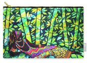 Sleep To Dream Silkpainting Belize Carry-all Pouch