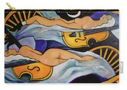 Sleeping Cellists Carry-all Pouch