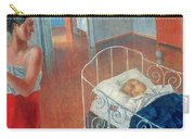 Sleeping Child Carry-all Pouch by Kuzma Sergeevich Petrov Vodkin
