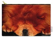 Sleeping Chow Chow Carry-all Pouch