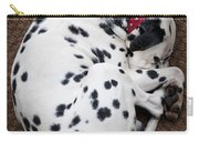 Sleeping Dalmatian Carry-all Pouch