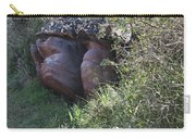 Sleeping In The Jungle - Stone Face In Forest Carry-all Pouch