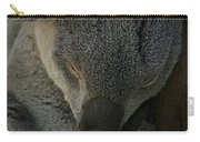 Sleeping Koala Bear Carry-all Pouch