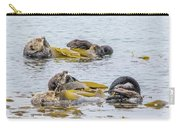 Sleeping Otters Carry-all Pouch