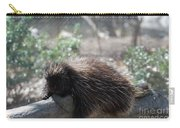 Sleeping Porcupine With Lots Of Quills Carry-all Pouch