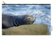 Sleeping Sea Lion Carry-all Pouch