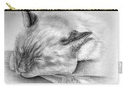 Sleeping Siamese Carry-all Pouch