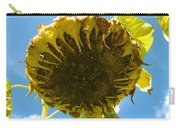 Sleeping Sunflower Carry-all Pouch