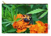 Sleepy Bumblebee Carry-all Pouch