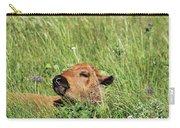 Sleepy Calf Carry-all Pouch