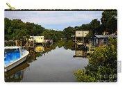 Sleepy Cedar Key Florida Carry-all Pouch by David Lee Thompson
