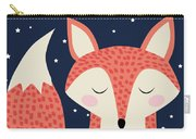 Sleepy Fox Carry-all Pouch