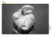 Sleepy Swan Carry-all Pouch