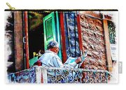 Slice Of Life Sunny Sunday Morning Newspaper India Rajasthan Udaipur 2a Carry-all Pouch