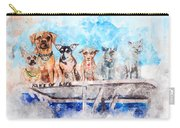 Slice Of Life Watercolor Carry-all Pouch by Michael Colgate