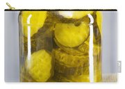Sliced Pickles In Clear Glass Jar Carry-all Pouch