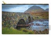 Sligachan Bridge View #h4 Carry-all Pouch by Leif Sohlman
