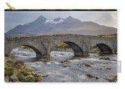Sligachen Bridge And The Black Cullin, Isle Of Skye Carry-all Pouch