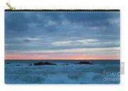 Sliver Of Pink At Moonstone Beach Carry-all Pouch