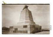 Sloat Monument On The Presidio Of Monterey Circa 1910 Carry-all Pouch