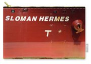 Sloman Hermes Detail With Anchor 051718 Carry-all Pouch