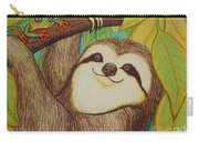 Sloth And Frog Carry-all Pouch