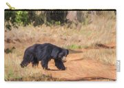 Sloth Bear Melursus Ursinus Carry-all Pouch