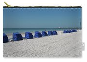 Slow Morging At The Beach Carry-all Pouch