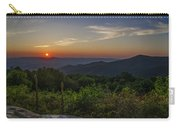 Skyline Drive National Park At Sunset Carry-all Pouch