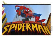 Spider Man Ride Sign.  Carry-all Pouch