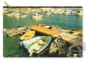 Small Boat Dock Catalina Island California Carry-all Pouch