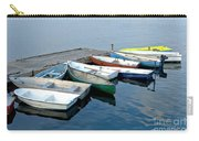 Small Boats Docked To A Pier Carry-all Pouch