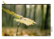Small Branch With Yellow Leafs Close-up Carry-all Pouch