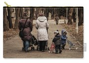 Small Child Looking Backward Carry-all Pouch