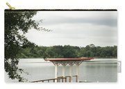 Small Dock At Lake Baldwin Carry-all Pouch