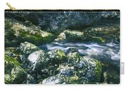 Small Freshwater Spring Under Rocks Carry-all Pouch