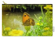 Small Heath Butterfly Carry-all Pouch