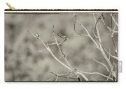 Small Lonesome Bird Carry-all Pouch