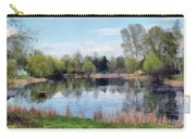Small Pond In Tomilino Carry-all Pouch