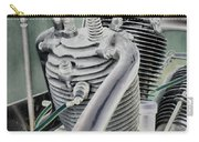 Small Radial Engine Carry-all Pouch by Dennis Dame