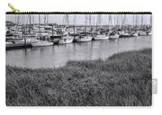 Small Sailboat Harbor Monochrome  Carry-all Pouch