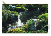 Small Stream In Green Forest Lapland Carry-all Pouch