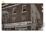 Small Town Shops - Sepia Carry-all Pouch