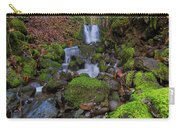 Small Waterfall At Lower Lewis River Falls Carry-all Pouch