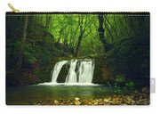 Small Waterfall In Forest Carry-all Pouch