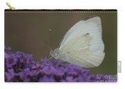 Small White Carry-all Pouch