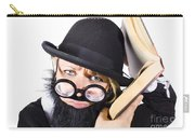 Smart Woman Researching Info Carry-all Pouch